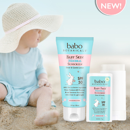 солнцезащитный крем Babo Botanicals