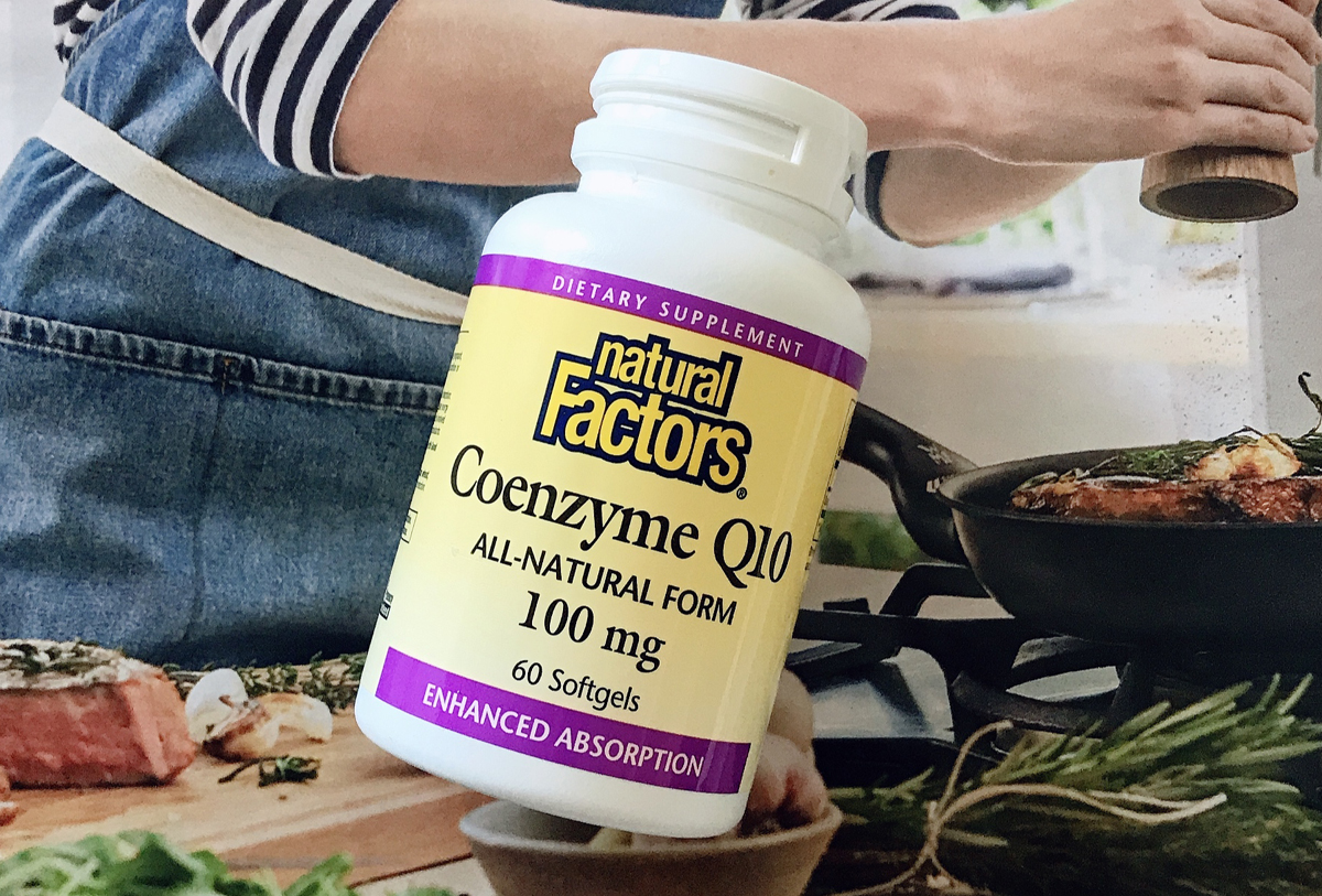 Коэнзим Q10 Natural Factors, дозировка