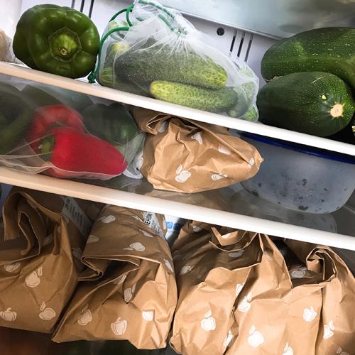 пакеты для хранения овощей