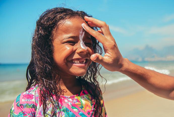 лучший крем от солнца для детей