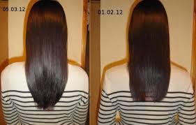 касторовое масло для волос фото до и после