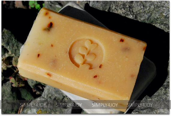 Pangea Organics hemp soap
