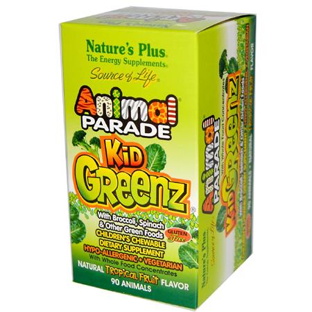 зеленый коктейль для детей