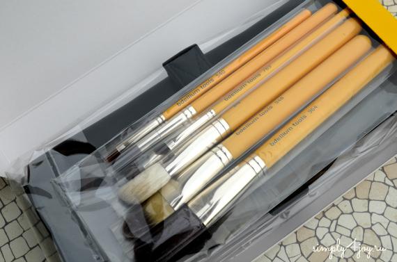 Bdellium Tools Studio Line brush set