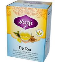 детокс чай для очищения печени и почек Yogi Tea