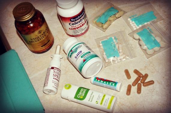 витамины в путешествие и самолет