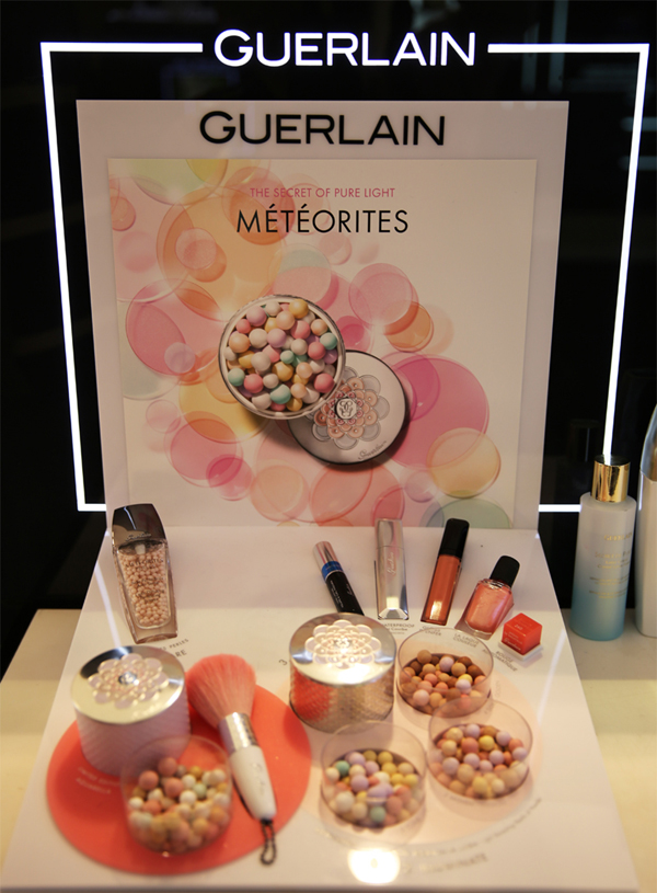 Guerlain Meteorites Aquarella Collection Summer 2014