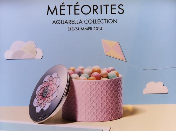 Guerlain Meteorites Aquarella Summer 2014