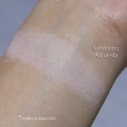 Meteorites Aquarella 2014 swatches