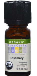 Aura Cacia, Organic, Rosemary