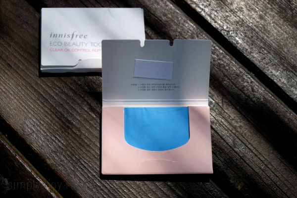 innisfree clear oil film 1