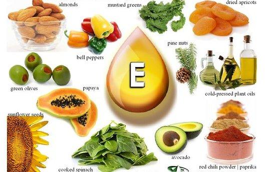 витамин Е в каких продуктах содержится