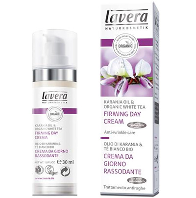 Lavera Naturkosmetic, Firming Day Cream, Karanja Oil & Organic White Tea