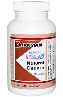 Kirkman Labs, Before Baby, Natural Cleanse