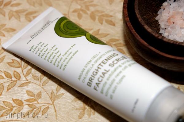 Acure Organics Brightening Facial Scrub 3