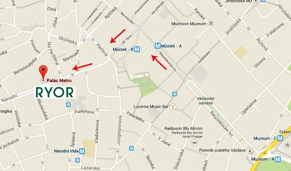 Ryor Praha adress