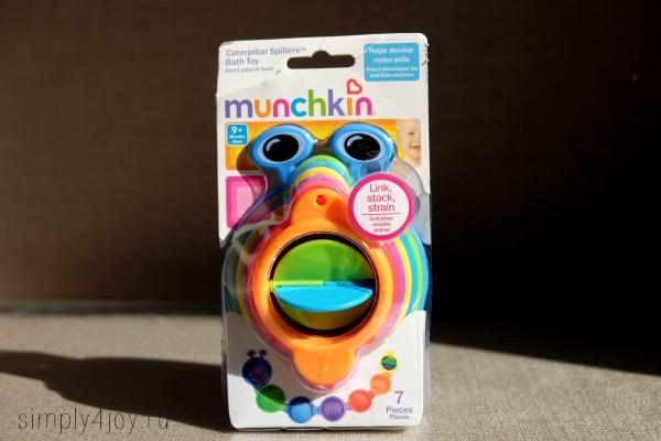 игрушки munchkin гусеница
