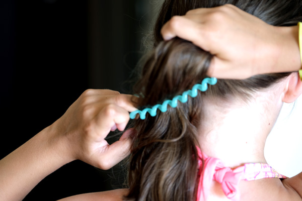 бебсшовная резинка для волос