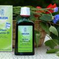 антицеллюилтное березовое масло Weleda