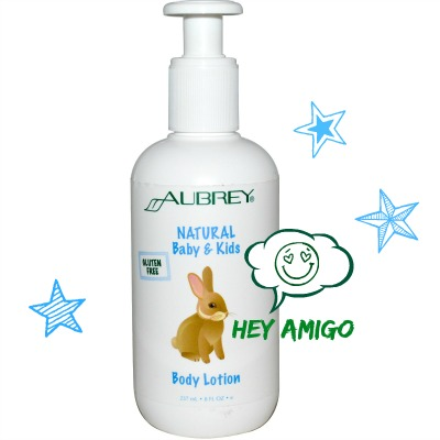 aubrey natural lotion