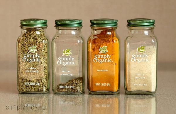 iherb haul лучшие специи Simply Organic