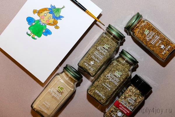 лучшие специи Simple Organic