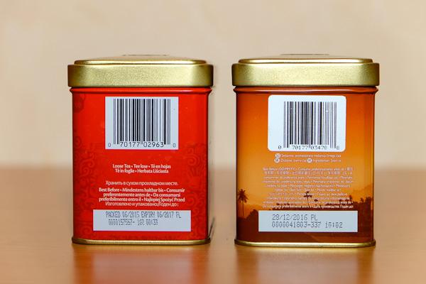 сравнение чая Twinings