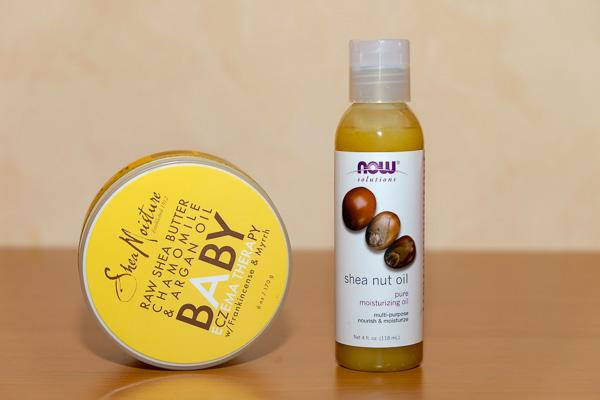 масло ши для лица и тела