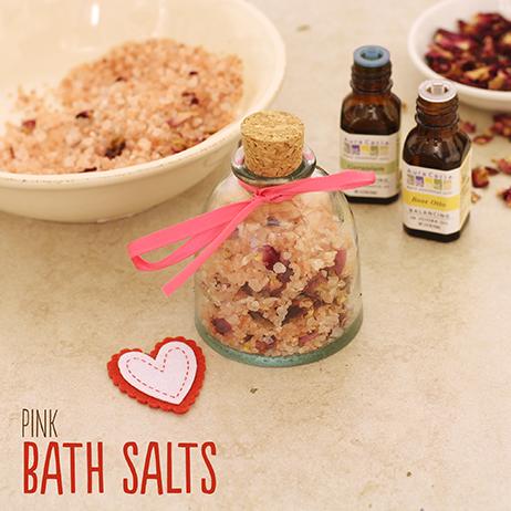 соль для ванны розовая рецепт
