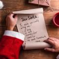 лист желаний Новый год