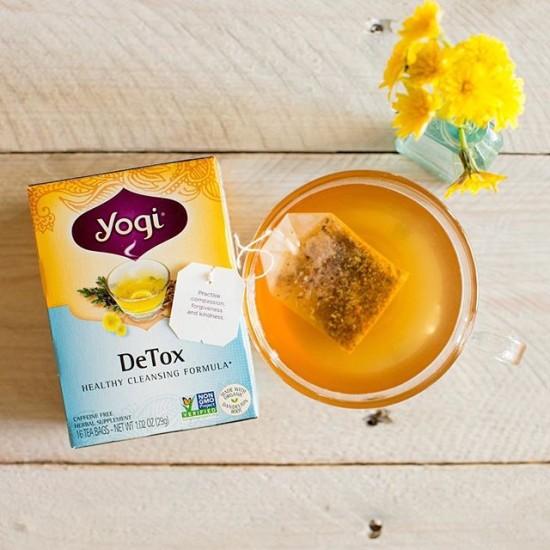 детокс чай yogi tea detox