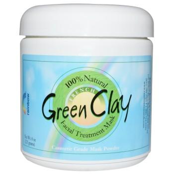 зеленая глина для кожи
