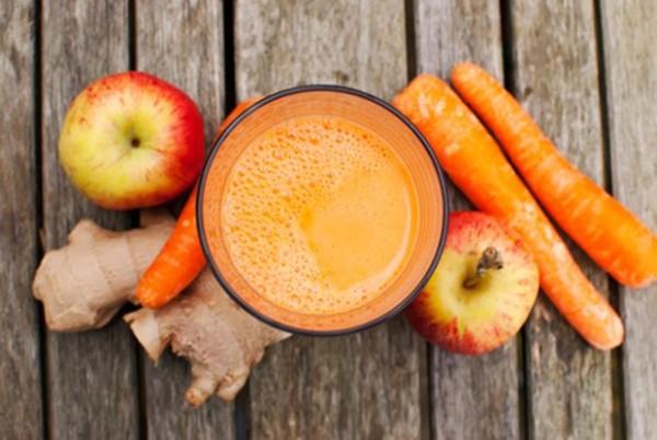 детокс очищение кожи яблочный сок рецепт