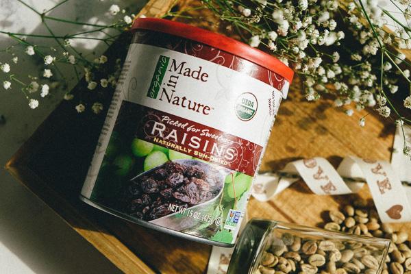 посылка iherb натуральный органический изюм