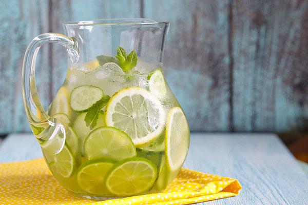 детокс вода с лимоном рецепт