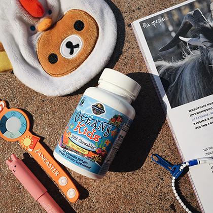 омега-3 для детей дозировки
