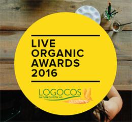 Live Organic Awards 2016 Премия