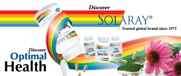 solaray новая марка на iherb!