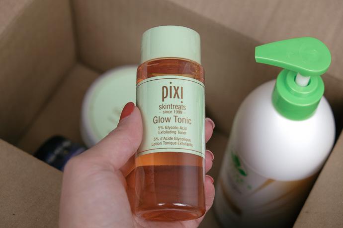 кислотный тоник pixi glow tonic