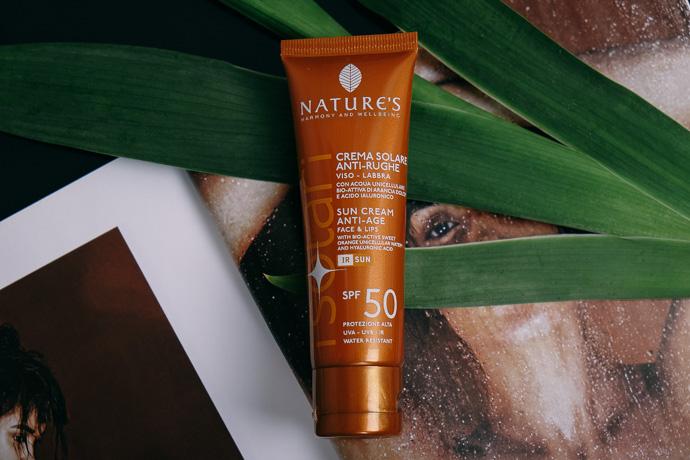 солнцезащитный крем для лица и губ nature's suncream simply4joy