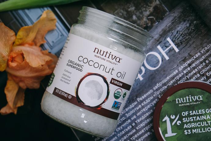 кокосовое масло Nutiva simply4joy
