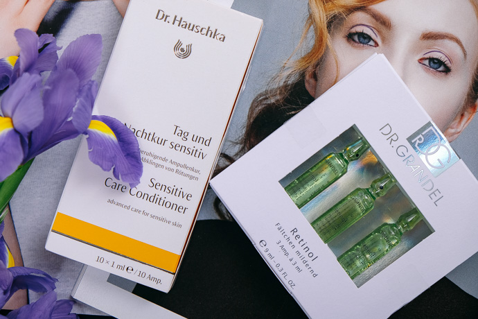 покупки из Германии, ампулы доктор Хаушка, ампулы Dr.Grandel