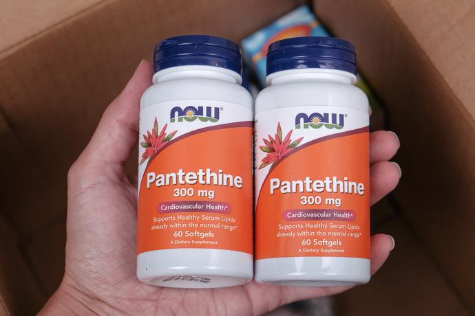 посылка iherb пантетин витамины Now Foods, simply4joy