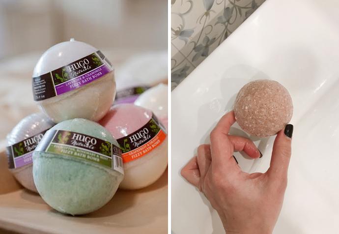 бомбы для ванной Hugo Naturals здоровая альтернатива