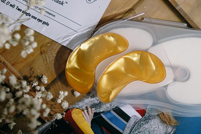 золотые гидрогелевые патчи