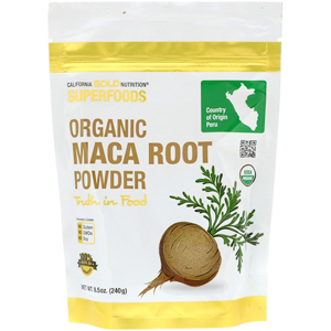 California Gold Nutrition, Organic Maca Root Powder