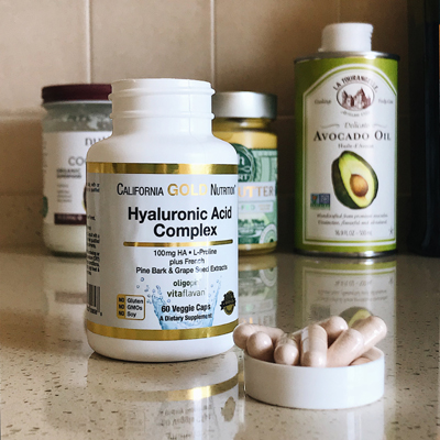 California Gold Nutrition гиалуроновая кислота