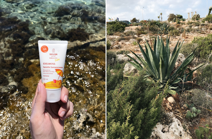 солнцезащитный крем для детей Weleda